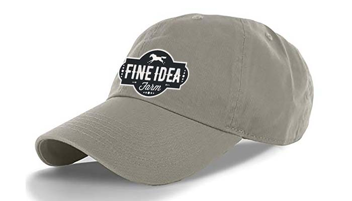 Gray Hat with FIF Logo
